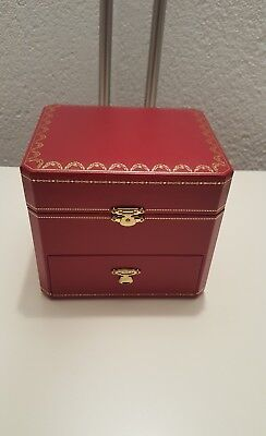 Cartier Uhrenbox / Schmuckbox / Etui / Box / Watch Case - NEU !