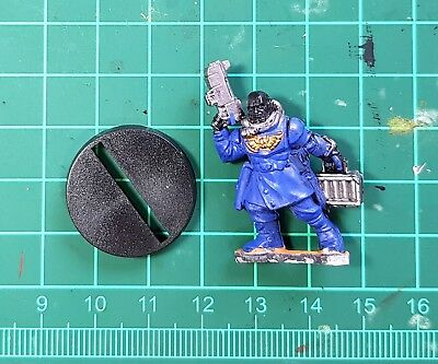 40K Space Marine Battle For Macragge Aquila Imperial Pilot from 4th Ed. Box Set