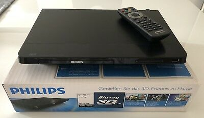 Philips BDP2180 3D Blue-ray Player in OVP