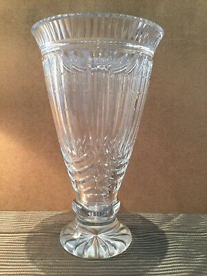 """Waterford Crystal Vase """"Cliffs of Moher"""""""