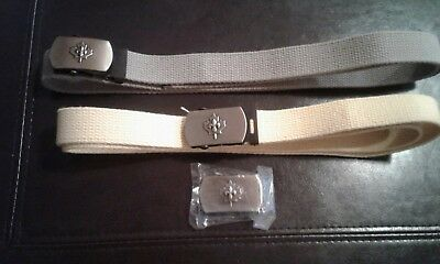 Scouts Canada Lot of 2 Belts/Buckles