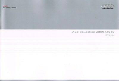 Audi Collection of Accesories Catalogue 2009/2010