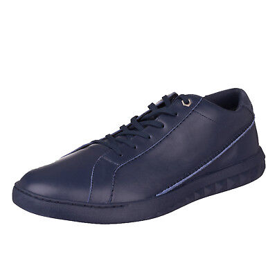 RRP €140 DIESEL Size 43 / UK 9 S-STUDDZY PURE Genuine Leather Low Top Sneakers