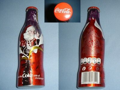 Coca Cola Coke X-Mas/Christmas 2007 ALU Flasche/bottle/bouteille/bottiglia RARE