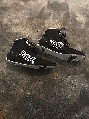 lonsdale boxing boots size 7 *great condition*