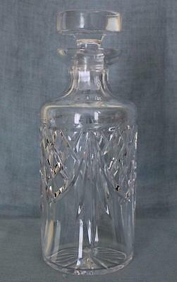 "Waterford Cut Crystal Giftware Pattern Spirit Decanter 9 & 1/2"" Tall"