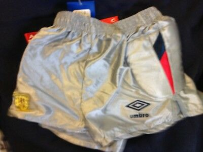 Scotland Goalies Shorts In Size 28 Inch 1990 World Cup At £9Brand New