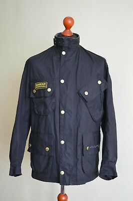 Barbour International Biker Jacket Men's Size 36