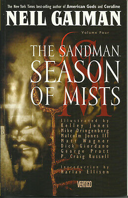 THE SANDMAN: SEASON OF MISTS  (DC/VERTIGO, 1992)  Neil Gaiman  TRADE PAPERBACK
