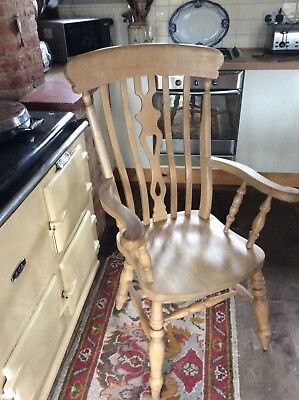 beech windsor chair