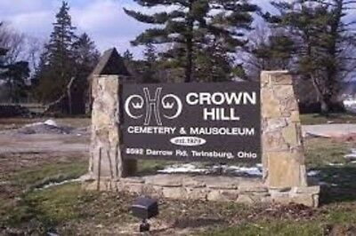 MAUSOLEUM Crown Hill Cemetery Twinsburg OHIO RETAILS FOR $20,000!
