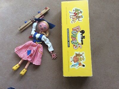 Vintage Pelham Puppet Dutch Girl SS2 boxed with instructions