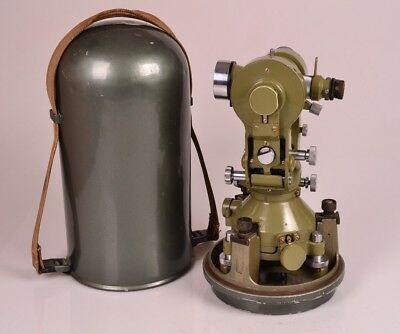 Excellent Wild T2 Theodolite Heerbrugg Switzerland S/N 101188 - Free Shipping
