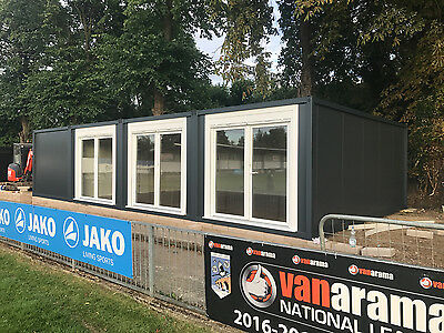 20ft x 40ft BRAND NEW 4 BAY MODULAR BUILDING, SALES OFFICE, SHOP, SITE OFFICE