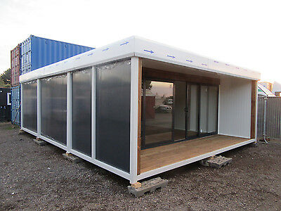 20ft x 30ft BRAND NEW 3 BAY MODULAR BUILDING, SALES OFFICE, SHOP, HOSPITALITY