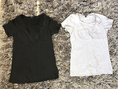 New Look Maternity & Breastfeeding Nursing Tops T Shirt Size M 12
