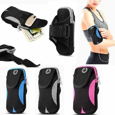 Adjustable Sports Running Jogging GYM Armband Bag Case Cell Phone Pouch Holder
