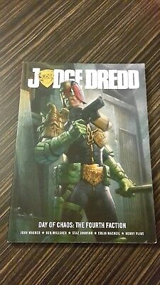 Judge Dredd (2000AD) Day of Chaos: The Fourth Faction - Wagner / Willsher /...