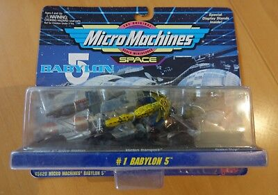 MicroMachines Babylon 5 Set 1