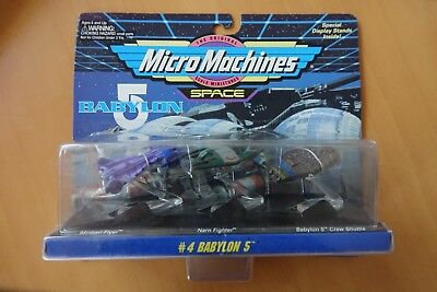 MicroMachines Babylon 5 Set 4
