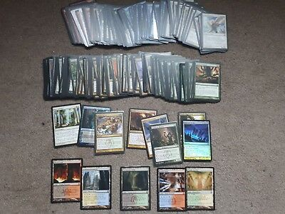 Return to Ravinica complete (RTR – 249/249)- Shock Lands, Abrupt, Deathrite. MtG