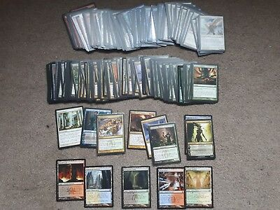 Return to Ravinica near complete (RTR – 247/249)- Shock Lands, Deathrite. MtG