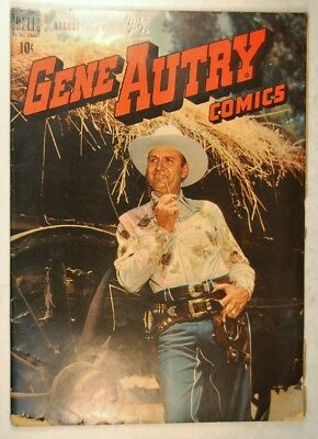 "Gene Autry Comics #18 (Aug 1948, Dell) ""Raiders of Silver Valley"""