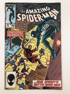 AMAZING SPIDER-MAN #265 // 1st App SILVER SABLE // VF/NM