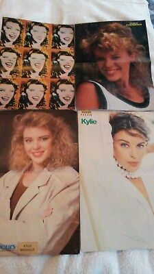 Collection of 26 Kylie Minogue posters, UK, Aussie& European