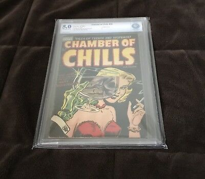 Chamber Of Chills #19 CBCS 5.0 off-white Classic Misfits Cover