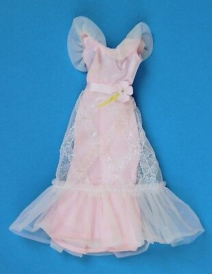 Barbie Kelley Pj Vintage Pink&white Lights The Night  #9738  1976 Mattel