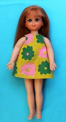 Tutti Chris Red Doll European Barbie Vintage '60 Mattel #8130