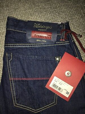NEW TRAMAROSSA  Jeans 1967 CIMOSATO BLU made in Italy