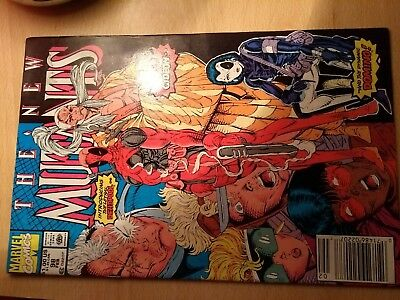 Marvel - The New Mutants #98 (First Deadpool appearance, plus Gideon and Domino)