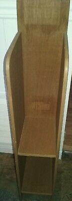 Commercial Wooden Magazine Rack, hold 200 Digest Sized Publications