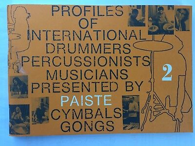 Paiste Profiles Of International Drummers #2