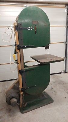 Aublet Homer Woodwork Bandsaw - Old style Electric Bandsaw with cast iron frame