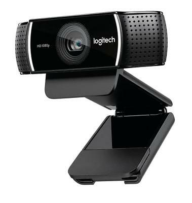 Logitech 1080p Pro Stream Webcam for HD Video Streaming and Recording 30FPS