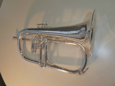 beautiful vintage F. Besson BREVETE flugelhorn #84xxx, rare & nice one