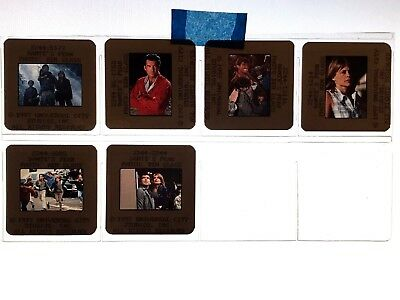 DANTE'S PEAK, 6 Original 35mm Slides, Pierce Brosnan, L. Hamilton, FREE SHIP USA