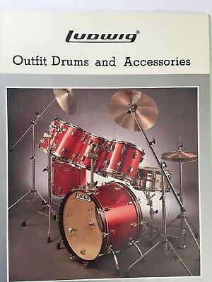 LUDWIG 1982 CATALOG WITH PRICE LIST - Lot #19