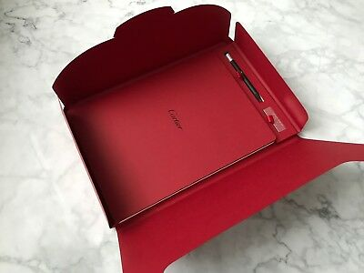 Cartier note book, pencil, flash drive brand new, never used, RARE