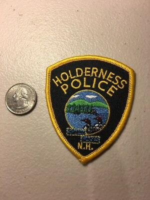 Holderness New Hampshire Police Department Patch Squam Lakes NH Small Size