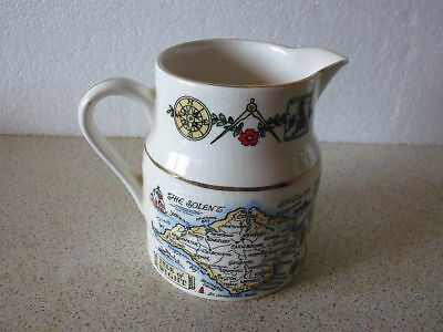 Lord Nelson Pottery England Souvenir Jug Withb Isle Of Wight (Iow) Pictures