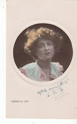 Vintage Postcard, Gabrelle Ray Early 1900s Super Model (f) Postage combined.