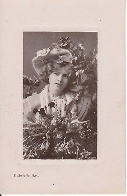 Vintage Postcard, Gabrelle Ray Early 1900s Super Model (g) Postage combined.