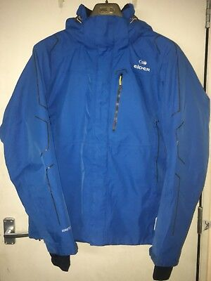 EIDER Gore-Tex Blue Synthetic Insulated Ski Jacket - Size M