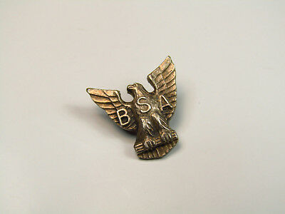 Sterling Silver Vintage Boy Scouts of America Eagle Scout Pin