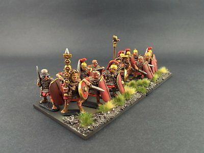 28mm Wargames Foundry Caesarian Romans Unit. (Well Painted)