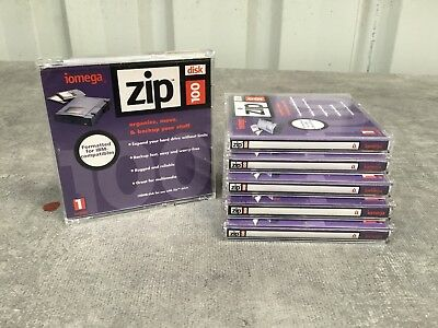 Six (6) Zip Disks ~ ~ Minimally Used
